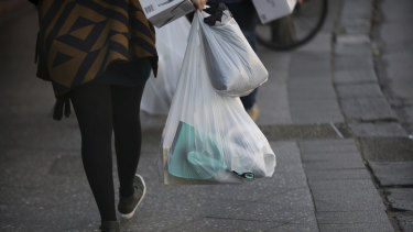 Single-use plastic bags could be banned in NSW under a Labor government.