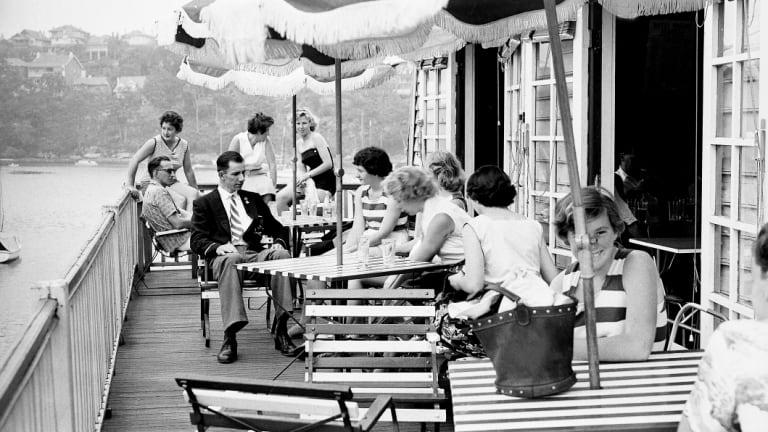 The Mosman Rowing Club in December 1957.