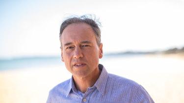 Heatlh Minister Greg Hunt.