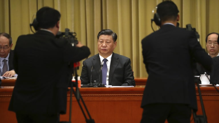 """Taiwan """"must and will"""" reunify with the mainland, Xi said."""
