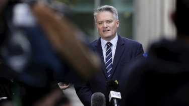 Finance Minister Mathias Cormann had been negotiating with crossbench senators to secure their support.