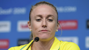 Sally Pearson had to pull out of the Games because of injury.