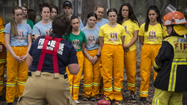 The camp participants will learn firefighting and interpersonal skills.