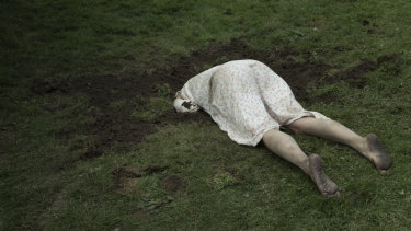 The creepy Irish-Finnish co-production uses a hole in the ground as a metaphor for death.