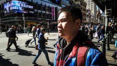 Tony Li returns to Flinders Street.