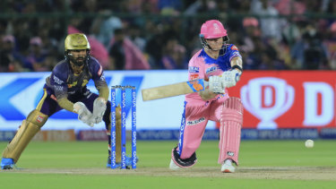 Steve Smith has hit his straps for the Rajasthan Royals in the IPL.