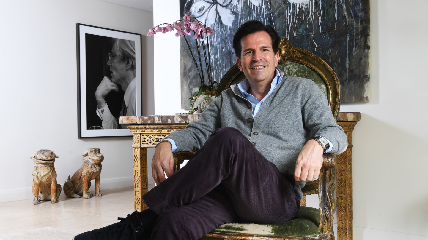 At Home With Thomas Hamel Interior Designer To The A List
