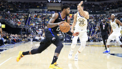 NBA wrap: George on target as Clippers speed past Pacers