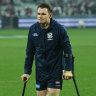 Scott optimistic that Dangerfield's ankle injury is 'minor'