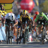 Reception issues make tuning in for Tour de France an uphill climb