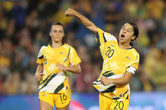 Sam Kerr and the Matildas will have a new home at a state-of-the-art facility at Latrobe University.
