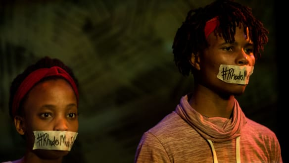 Palestine and South Africa on Melbourne stage in 'Taha', 'The Fall'