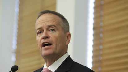'Stark conflict of interest': Bill Shorten says disability abuse royal commissioners must go