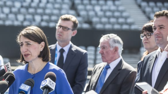 With $50m for netball and tennis, Berejiklian doubles down on sports