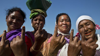 You think Australian elections are big? In India, an eighth of the world's population has voted