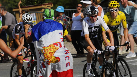 Hostility towards Froome escalates amid fear of 'haters' targeting Sky