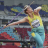 Javelin winner Kelsey-Lee Barber takes aim at Tokyo gold