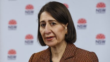 NSW Premier Gladys Berejiklian says she would not support lifting the cap on the number of Australians returning from overseas.