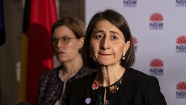 Mortally wounded as a  politician ...  Gladys Berejiklian.