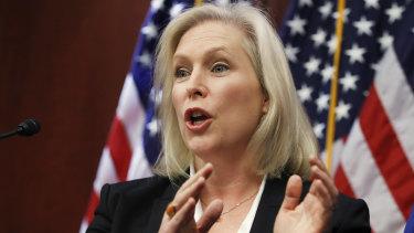 New York Senator Kirsten Gillibrand backs an independent probe of New York Governor Andrew Cuomo.