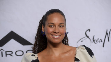 Alicia Keys will be one of many star names to feature on TikTok's #HappyAtHome: Live! program