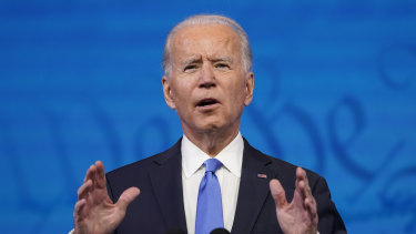 US President-elect Joe Biden was one of the most googled names in Australia in 2020.
