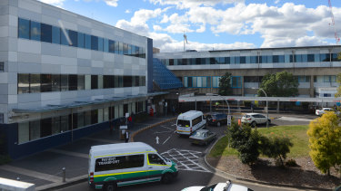 Westmead Hospital was stripped of its intensive-care trainees.