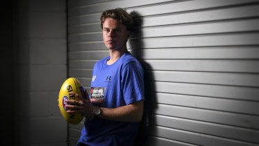 Prince of Geelong?: Oscar Brownless, son of 'King' Billy.