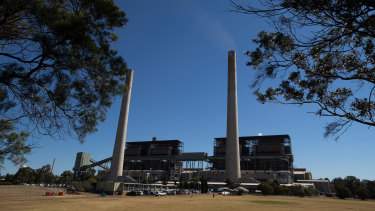 The Liddell power station in the Hunter Valley.