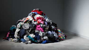 QUT researchers are developing a way to turn old clothes into a new type of battery.