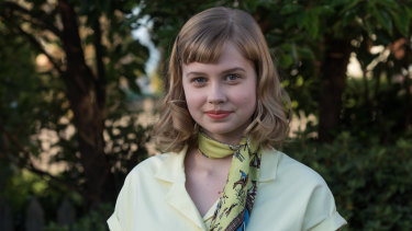 Up for best actress in a feature film: 17-year-old Angourie Rice who played Lisa in Ladies In Black.