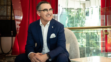 Virgin chief executive Paul Scurrah wants to turn a great airline into a great business.