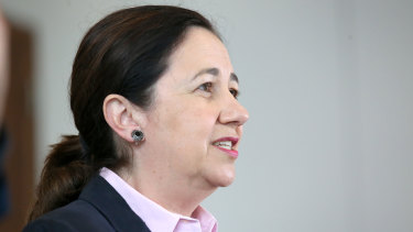 """Queensland Premier Annastacia Palaszczuk: """"We will talk through all of these issues."""""""