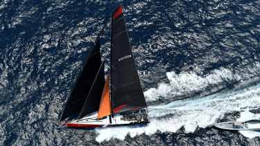 The controversial checkpoint at Green Cape proved a non-issue as the Sydney to Hobart fleet seamlessly crossed into Bass Strait.