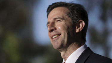 Tourism Minister Simon Birmingham is thrilled with the Matesong campaign.