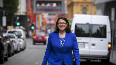 Victorian Health Minister Jenny Mikakos said local companies may be asked to increase production of face masks.
