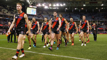 Essendon are unlikely to make an impact in the finals.