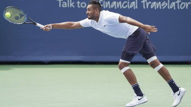 Nick Kyrgios has talent to burn, but does he have the will to win?