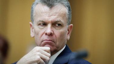 Australian Security Intelligence Organisation deputy director general Peter Vickery.