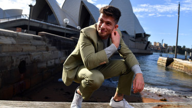 Josh Piterman was due to take the lead role in the Australian premiere of Phantom in September.