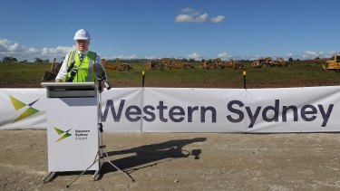 Deputy Prime Minister Michael McCormack says the $33 million paid for a parcel of farmland near the Western Sydney Airport will come to be seen as a bargain.