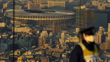 The Japan National Stadium is expected to host the already postponed Tokyo 2020 Olympics opening ceremony.