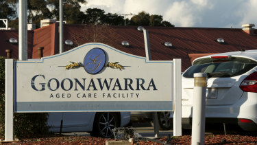 More than 80 residents and staff at Goonawara Aged Care Facility have been infected with COVID-19.