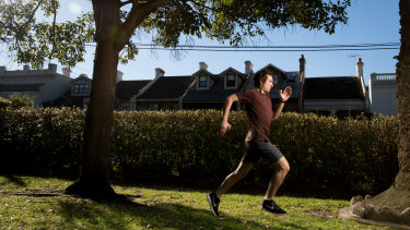 Andrew Skelton was part of the Keeping Body in Mind program, which combines mental health care with physical exercise.