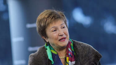 """This is a crisis like no other"": IMF managing director Kristalina Georgieva."