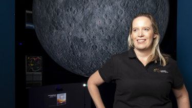 Australian Space Agency executive director of operations and communications Anntonette Dailey.