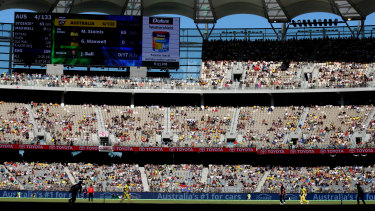 Perth Stadium hosted its first international ODI in January 2018 when Australia played England.