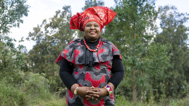 """I'm a great believer in different women, different cultures, coming together"": Rosemary Kariuki-Fyfe."