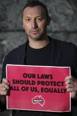 Olympic legend Ian Thorpe campaigned in February 2020 on the Religious Discrimination Bill.