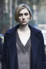 Elizabeth Debicki in Foxtel's Tasmania-set thriller The Kettering Incident.